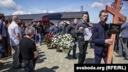 Похороны журналиста Павла Шеремета. Минск, 23 июля 2016 года.