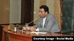 د افغانستان د مشرانو جرګې دوهم مرستیال محمد اصف صدیقي