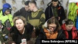 Оксана Владыка (слева). Архивное фото с Шиеса