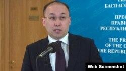 Дәурен Абаев, ақпарат және коммуникация министрі. Астана, 20 ақпан 2018 жыл.