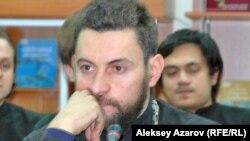 Ключарь Свято-Вознесенского кафедрального собора Александр Суворов. Казахстан, Алматы, 24 декабря 2014 года.