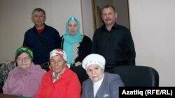 Оха шәһәрендә татарлар белән очрашу вакытында
