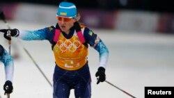 Валя Семеренко в олімпійському Сочі (архівне фото)