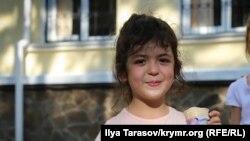 Сурие Салиева, которой сегодня исполнилось 5 лет