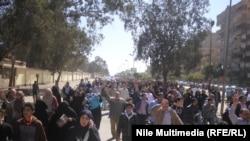 احدى مظاهرات جماعة الاخوان في القاهرة 28 شباط