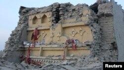 Qarku Avaran pas tërmetit.