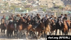 FILE: Bbuzkashi – a popular, traditional equestrian sport in Afghanistan and Central Asia.