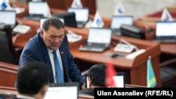 Депутат Камчыбек Жолдошбаев
