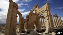 معبد بَعل شَمین در پالمیرا (تدمر)