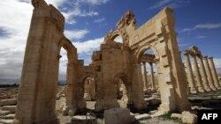 Սիրիա - Բաալ-Շամինա տաճարը Պալմիրայում, արխիվ