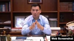 Глава Калмыкии Бату Хасиков
