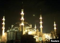Стамбул, мячэць султана Ахмэта