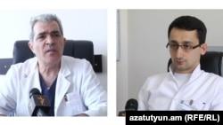 Андраник Погосян и Левон Бадалян, 28 апреля 2015 г.