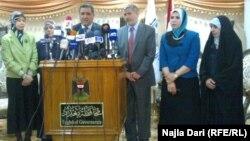 محافظ بغداد ورئيس مجلس المحافظة في ندوة عن المرأة