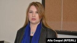"""Aliona Dumitraș, președint Asociației """"SOS Autism"""""""