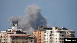 غزه در روز جمعه