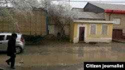 Здание в Хазараспском районе Хорезмской области.