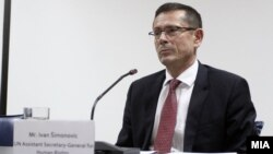 Иван Шимоновиќ, помошник генерален секретар на Обединетите нации за човекови права.