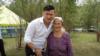 Анвар Нургалиев с матерью НасимойНургалиевой