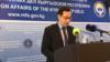 Уланбек Дыйканбаев, Тышкы иштер министрлигинин басма сөз катчысы.