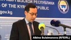 Уланбек Дыйканбаев.