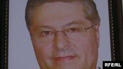 Портрет Павла Лазаренко, бывшего премьер-министра Украины.