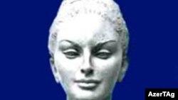 """Бюст """"Божественная муза"""", установленный в Ниагаре (Канада)"""