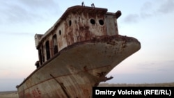 "The Aral Sea ""is probably the classic example of mismanagement and man-made disaster."""