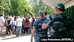 "Акция протеста у парка ""Дубки"""