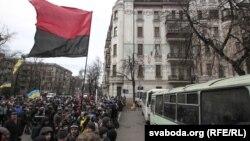 Украинадағы наразылық. Киев, 4 желтоқсан 2013 жыл.