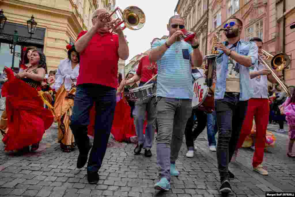 Brass band Mahala Rai Banda from Romania