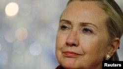 Госсекретарь США Хилари Клинтон