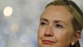 U.S. Secretary of State Hillary Clinton tells Iran not to misinterpret the planned U.S. troop withdrawal from Iraq.