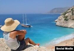 Средиземноморское побережье Турции в районе Анталии