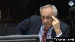 Vojislav Kuprešanin na svjedočenju