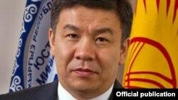 Kyrgyzstan -- Almambet Shykmamatov, Justice Minister of Kyrgyzstan