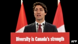Премьер-министр Канады Джастин Трюдо.