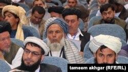 په افغانستان کې دیني عالمانو غونډه. انځور- ارشیف