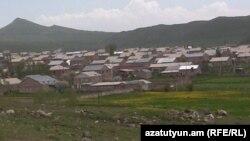 Տեսարան Շիրակի մարզի գյուղերից մեկից