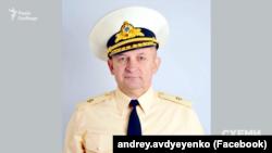 Ардрій Авдєєнко, що називає себе істориком і адміралом