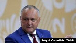 Președintele Igor Dodon la St. Petersburg, la Forumul Economic Internațional (SPIEF), 6 iunie, 2019