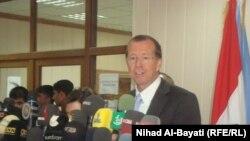 مارتن كوبلر، ممثل امين عام الأمم المتحدة في العراق متحدثاً في كركوك