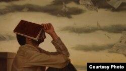 نقاشی اثر ایمان ملکی