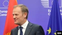Президент совета Евросоюза Дональд Туск.
