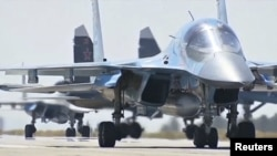 Russian military jets in Syria (file photo)
