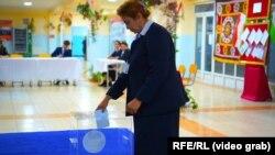 Tacikistanda seçki