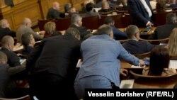 Гласуване в българския парламент