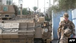 Ірак -- блок-пост британських військових у місті Аль-Басрах. Вересень, 2008 р.