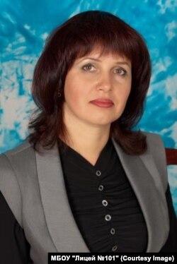 Ольга Останина, классный руководитель Ильи, фото с официального сайта лицея
