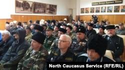 Большой круг Терского казачьего войска проходит во Владикавказе, 6 октября 2018 года